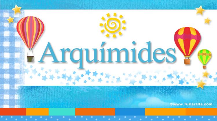 Arquímides, imagen de Arquímides