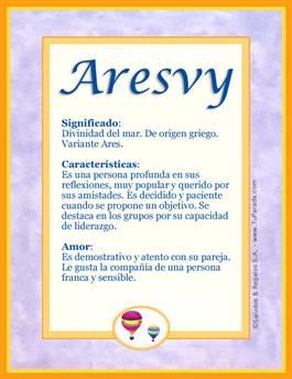 Nombre Aresvy