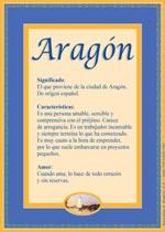 Nombre Aragón