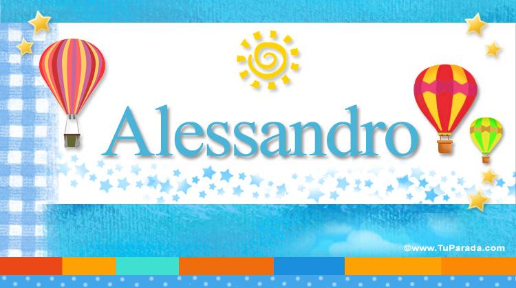 Alessandro, imagen de Alessandro