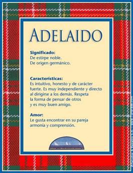 Nombre Adelaido