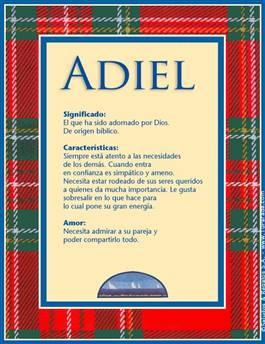Nombre Adiel