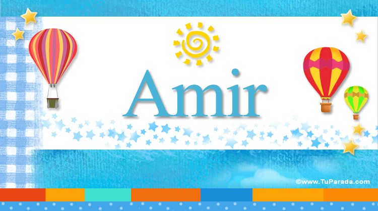 Amir, imagen de Amir