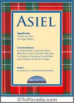 Nombre Asiel