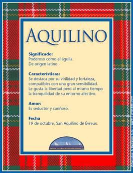 Nombre Aquilino