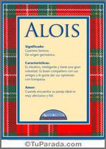 Nombre Alois