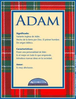 Nombre Adam