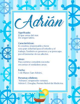 Nombre Adrián