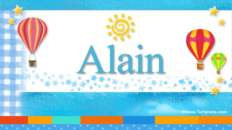 Alain, imagen de Alain