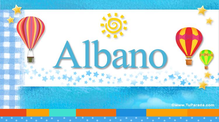 Albano, imagen de Albano