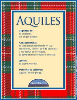 Nombre Aquiles