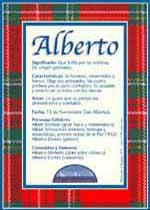 Nombre Alberto