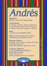 Nombre Andrés