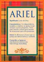 Nombre Ariel