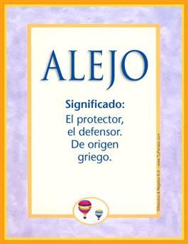 Nombre Alejo