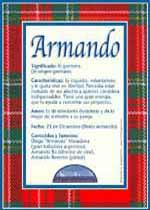 Nombre Armando
