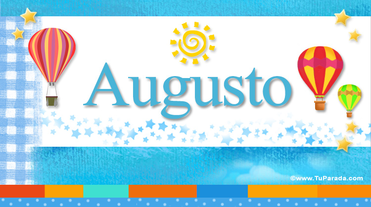 Augusto, imagen de Augusto