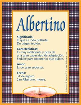 Nombre Albertino
