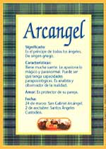 Nombre Arcangel