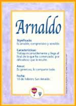 Nombre Arnaldo