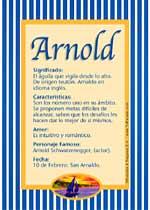 Nombre Arnold