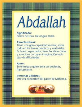 Nombre Abdallah
