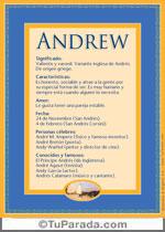 Nombre Andrew