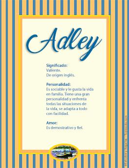Nombre Adley