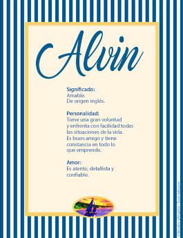 Nombre Alvin