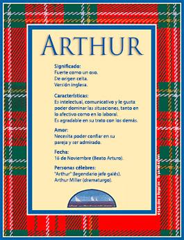 Nombre Arthur