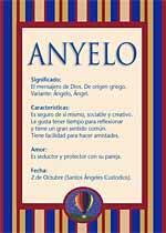 Nombre Anyelo