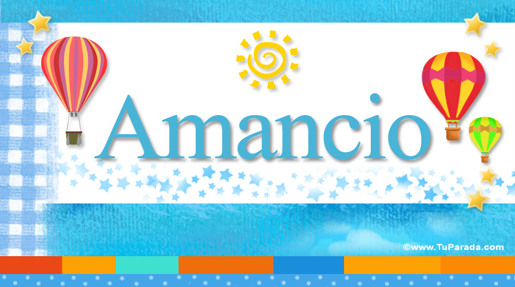 Amancio, imagen de Amancio