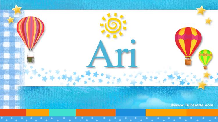 Ari, imagen de Ari