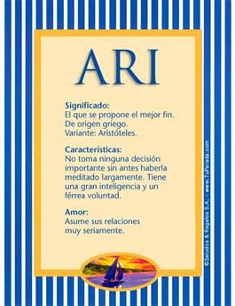 Nombre Ari