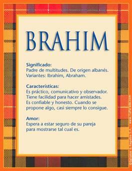 Nombre Brahim