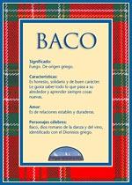 Nombre Baco