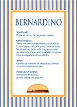 Nombre Bernardino