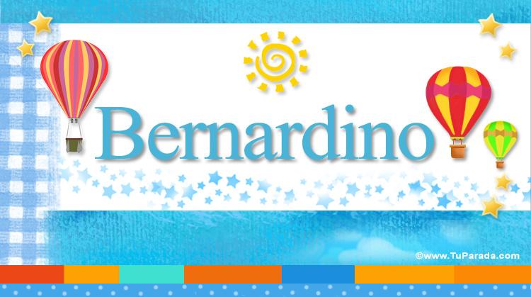 Bernardino, imagen de Bernardino