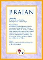 Nombre Braian