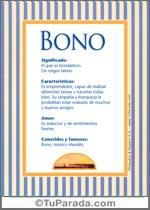Nombre Bono