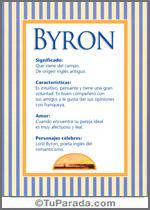 Nombre Byron