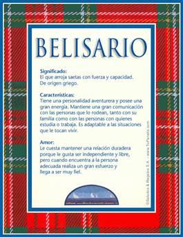 Nombre Belisario