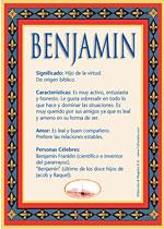 Nombre Benjamín
