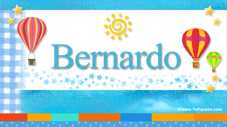 Bernardo, imagen de Bernardo