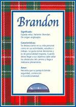 Nombre Brandon