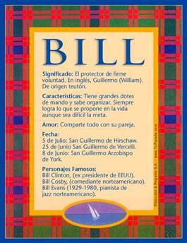 Nombre Bill