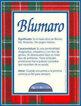 Nombre Blumaro