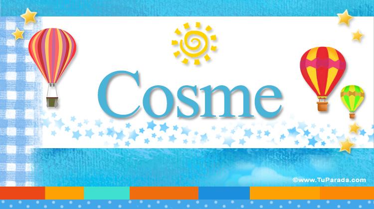 Cosme, imagen de Cosme