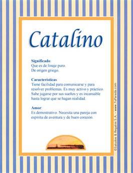 Nombre Catalino
