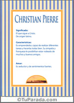 Christian Pierre